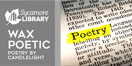 Wax Poetic: Virtual Poetry Night by Candlelight-Gentle Reads Hour tickets
