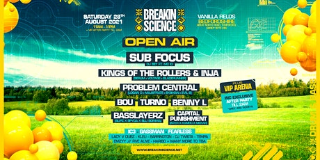 Breakin Science Open Air tickets