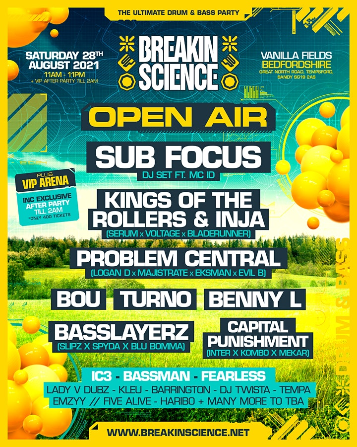Breakin Science Open Air image