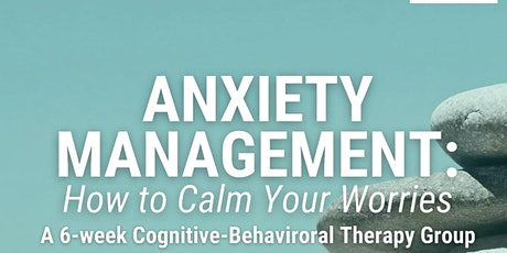 Anxiety Management Group tickets