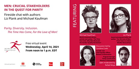 Men: Crucial Stakeholders in the Quest for Parity (L. Plank+ M. Kaufman) tickets