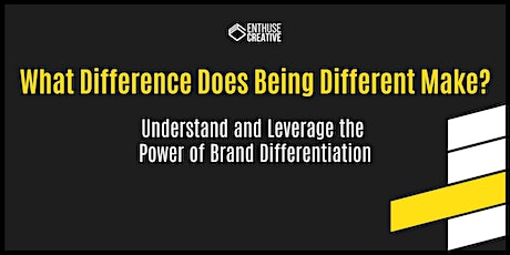 What Difference Does Being Different Make? Pt II tickets