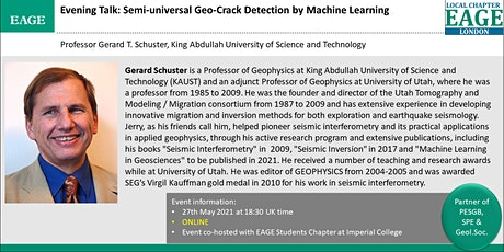 EAGE London: Semi-universal Geo-Crack Detection by Machine Learning tickets