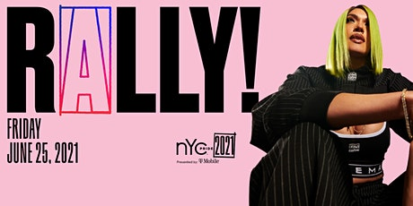 NYC Pride 2021 | RALLY tickets