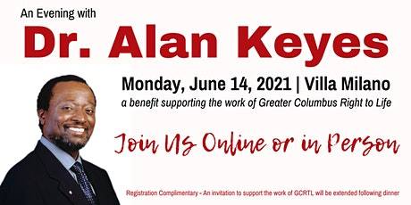An Evening With Dr. Alan Keyes tickets