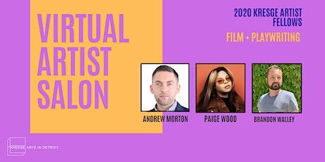Artist Salon Series: Film + Playwriting tickets