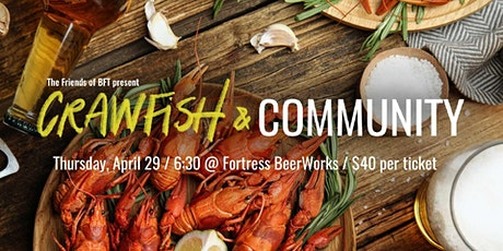 Crawfish & Community tickets