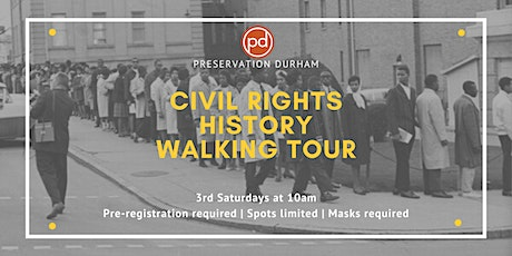 Durham Civil Rights History Walking Tour tickets