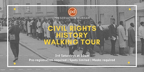 Durham Civil Rights History Walking Tour tickets