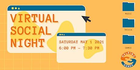 Virtual Social Night tickets