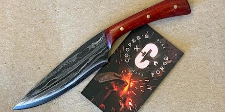 Bladesmith Weekend Class - Damascus Steel Knife tickets