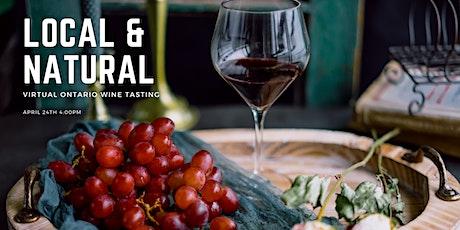 Local & Natural Virtual Ontario Wine Tasting tickets
