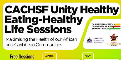 Unity Healthy Eating Online Sessions tickets