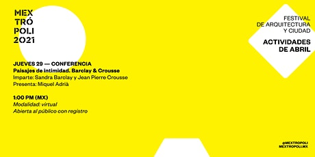 CONFERENCIA | Paisaje de intimidad: Barclay & Crousse biglietti