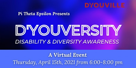 D'YOUVERSITY: Disability and Diversity Awareness tickets