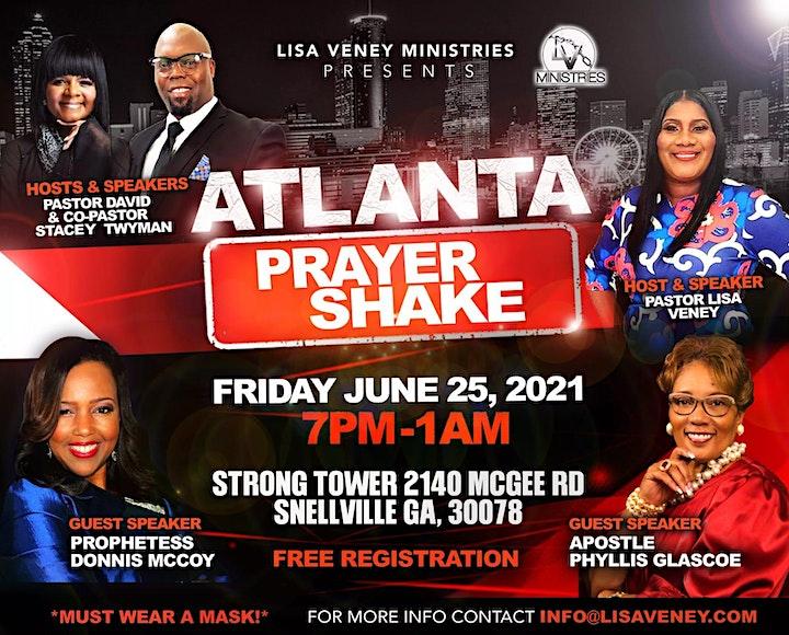 ATLANTA PRAYER SHAKE @Strong Tower image