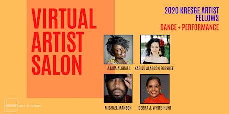 Artist Salon Series: Dance + Performance tickets