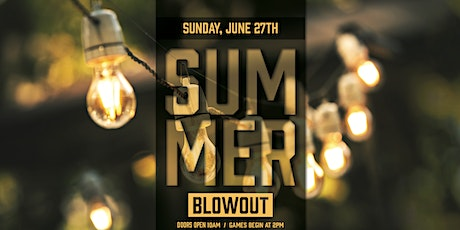 June Bingo Blowout Pre-Sale tickets