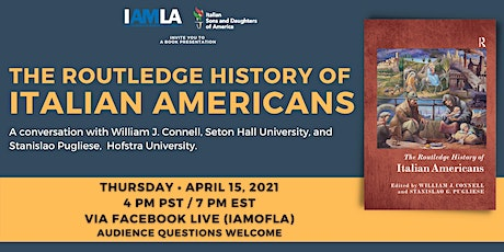 The Routledge History of Italian Americans tickets