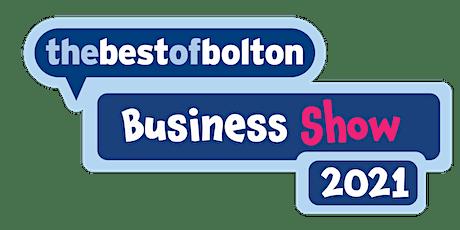 Thebestofbolton Business Show 2021 billets