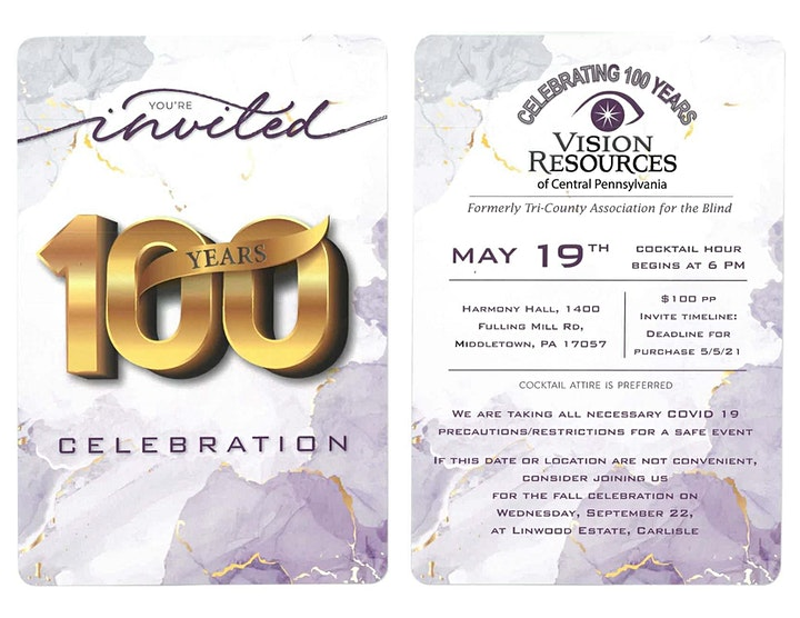 Vision Resources 100th Anniversary Celebration image