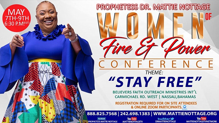 WOMEN OF FIRE AND POWER ONLINE CONFERENCE 2021!! image