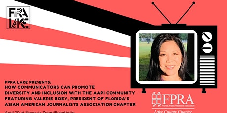 "FPRA Lake: ""How to Promote Diversity and Inclusion with the AAPI community"" tickets"