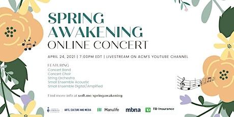 Spring Awakening Online Concert tickets