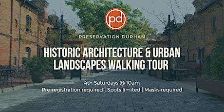 Durham's Architecture & Urban Landscape Walking Tour tickets