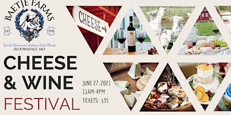 Baetje Farms Cheese & Wine Festival tickets