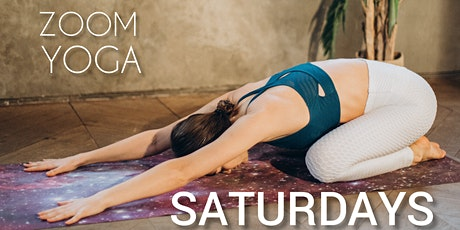 Zoom YOGA SATURDAYS | 9:15-9:55AM tickets