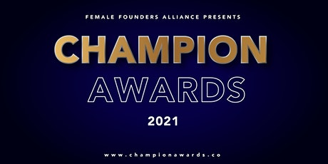 Champion Awards 2021 Watch Party tickets