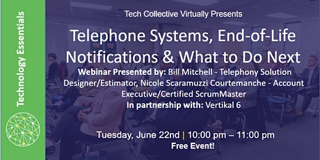 Telephone Systems, End-of-Life Notifications & What to Do Next tickets