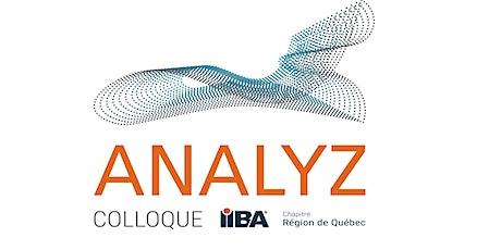 ANALYZ - Colloque 2021 de l'IIBA Région de Québec billets
