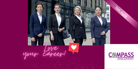 WBL webinar on how to love your career tickets