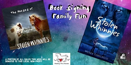 Meet the Therapy Horses of Stolen Whinnies tickets