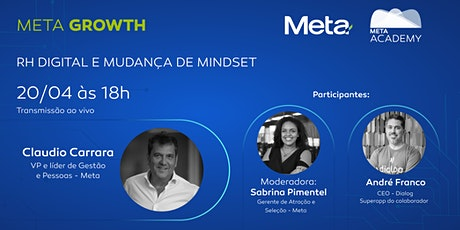 Meta Growth | RH Digital e mudança de mindset ingressos