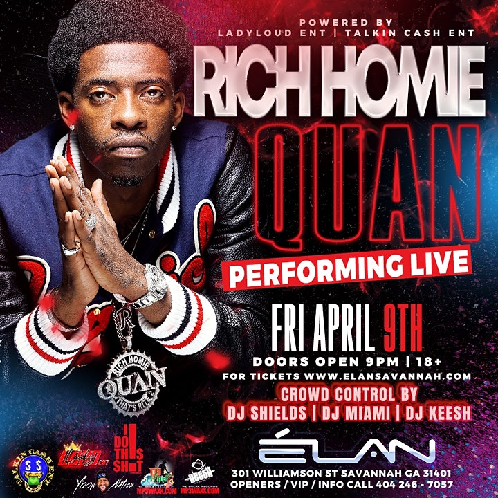 Rich Homie Quan Live at Elan Savannah
