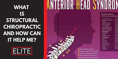 What is Structural Chiropractic and How Can it Help Me? tickets