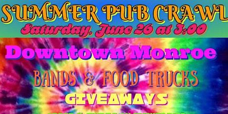 Summer Pub Crawl tickets