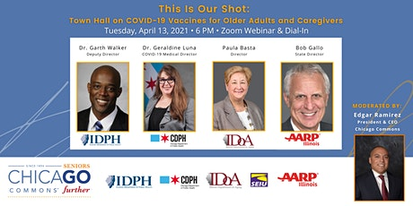 This Is Our Shot: COVID-19 Vaccine Town Hall for Older Adults & Caregivers tickets