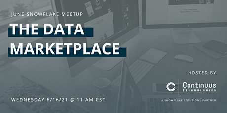 Snowflake Meetup (June) - The Data Marketplace tickets