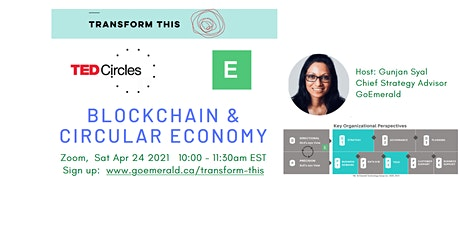 TED Circles: Blockchain & Circular Economy tickets
