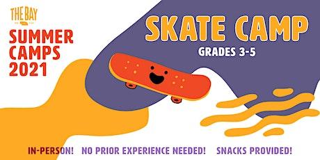 Skate Camp (July 13-16, Grades 3-5) tickets