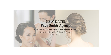 New Date!! Braided Updos Pro Hairstyling Workshop tickets