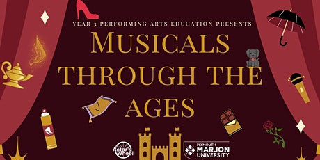 Musicals Through The Ages - Monday 26th April tickets