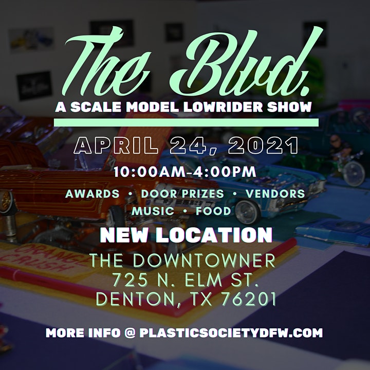 """""""The Blvd"""" A Scale Model Lowrider Show image"""