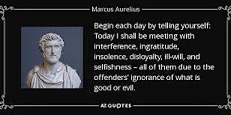 Marcus Aurelius: Roman Emperor and Stoic Philosopher, ONLINE discussion tickets