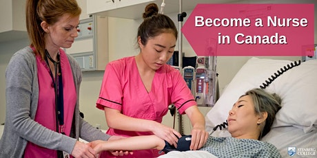 Philippines: Becoming a Nurse in Canada – Free Webinar: April  24, 10 am tickets