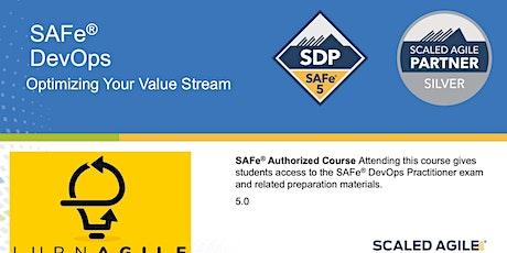 SAFe 5.0 DevOps (SDP Certification) tickets